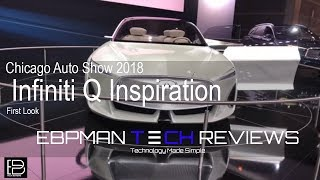 Infiniti Q Inspiration - Exterior and Interior Walkaround - 2018 Chicago Auto Show