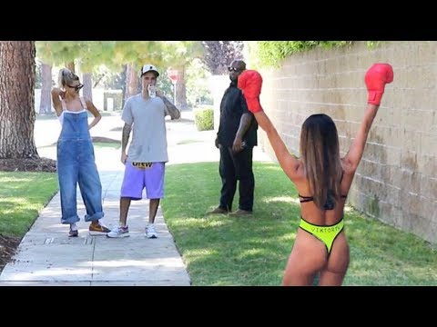 Justin Bieber Got Offer To Fight From My Girl  Prank