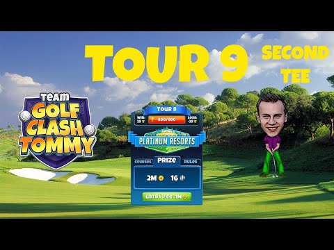 Golf Clash tips, Hole 1 - Par 4, Southern Pines - Platinum Resorts, Tour 9 - GUIDE/TUTORIAL