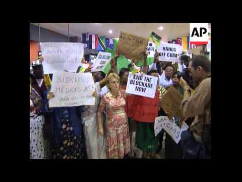 South Africa - Cuban Doctors Arrive