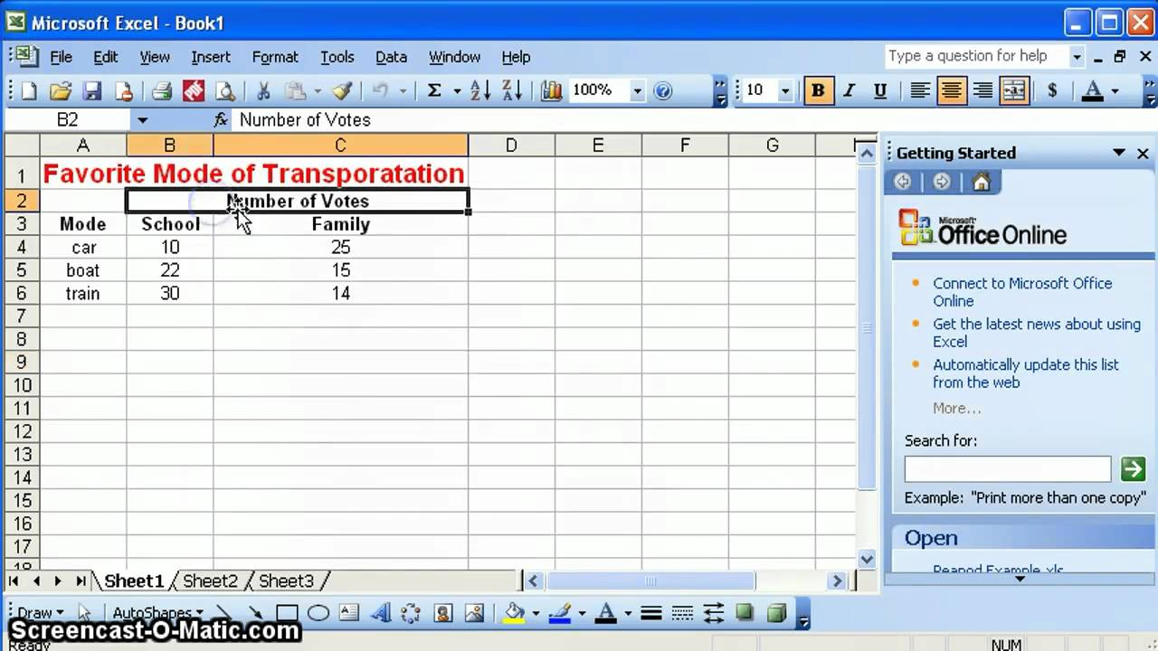 Use Fill Color In MS Excel
