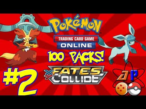 Pokemon TCGO | 100 Fates Collide Packs! | Part 2 | AtomPunk