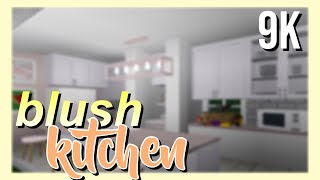 ROBLOX | Bloxburg: Blush House Kitchen 9K