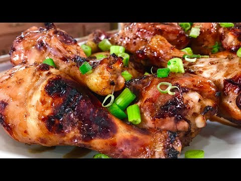 Spicy Honey Balsamic Drumsticks