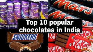 Top 10 | Popular Chocolates in India | Best Chocolates in India | Chocolates