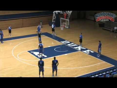 Duke Basketball: Competitive Shooting Drills