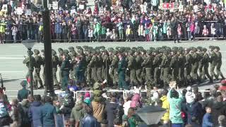 Парад 9 Мая в Южно Сахалинск 2018