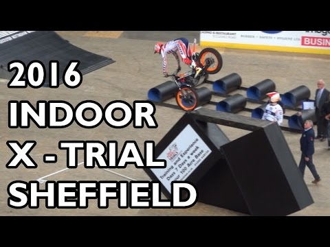 FIM X-Trial Championship Sheffield 2016 - BEST BITS