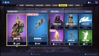 *NEW GUAN YU SKIN* Fortnite Daily Item Shop Reset Update 12/1/18