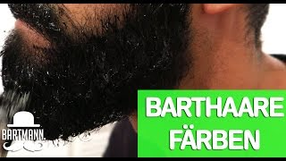 HOW-TO : BART FÄRBEN / TÖNEN | BARTMANN