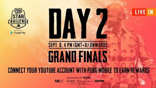 [HINDI] PMSC 2019 Grand Finals Day 2 | PUBG MOBILE Star Challenge 2019