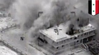 Syria crisis: U.S.-lead airstrikes against IS targets continue