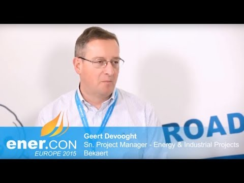 Interview with Geert Devooght, Senior Projectmanager Energy, Bekaert / Belgium