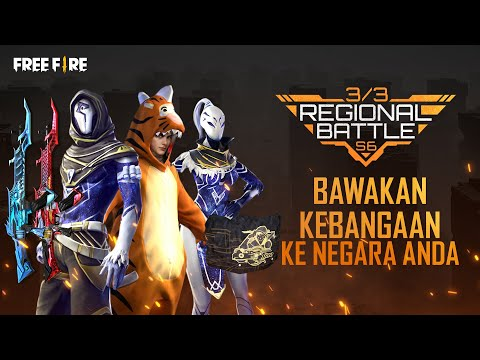 Regional Battle Musim Enam - Video Tutorial | Garena Free Fire Malaysia