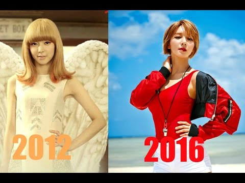 The Evolution Of AoA  에이오에이 ( 2012 - 2016 )