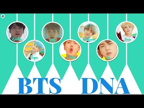 BTS(방탄소년단) DNA - Let's study Korean with DNA