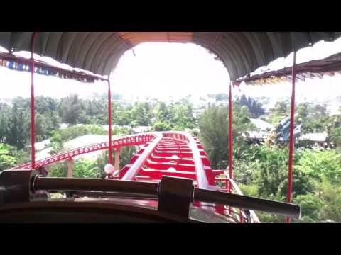 Tàu Lượn Siêu Tốc Suối Tiên - Roller Coaster Suoi Tien