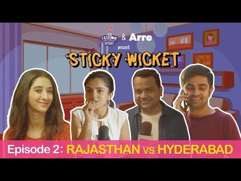 Sticky Wicket EP 2 | Shaadi Ka Rishta - RR Vs SRH Ft. Ahsaas, Kritika, Akashdeep & Kumar Varun
