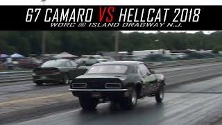 67 Chevy Camaro vs 2018 Hellcat