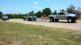 Cummins vs duramax tug of war