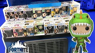 Hunting For Exclusive Fortnite Funko Pops