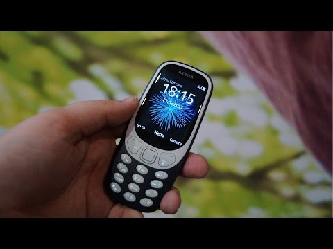 Nokia 3310 Hands On at MWC 2017