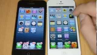 Sahte iphone 5 ile gerçek iphone 5 karşılaştırması