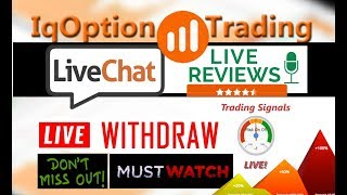 IQ Option ChatRoom Reviews Live withdraw Live signals Live Trade | 916% Profit  in Less than 20 Days