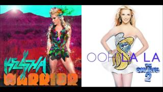 Supernatural vs Ooh La La   Ke$ha vs Britney Spears OhDearKesha Mashups) (Pt. 1)
