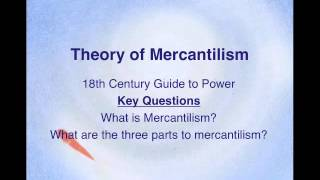the effects of mercantilism on early Mercantilism mercantilism is a political and economic system that arose in the 17th and 18th centuries the definition of this system can be explained as economic nationalism for the purpose of building a wealthy and powerful state.