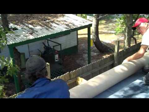 Rubber Roofing Over Mobile Home Roof Holden Beach 28462