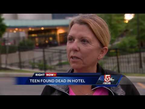 Woman found dead in hotel room