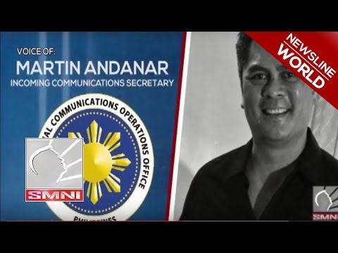 Martin Andanar:State-run news agencies to be improved under the new admin