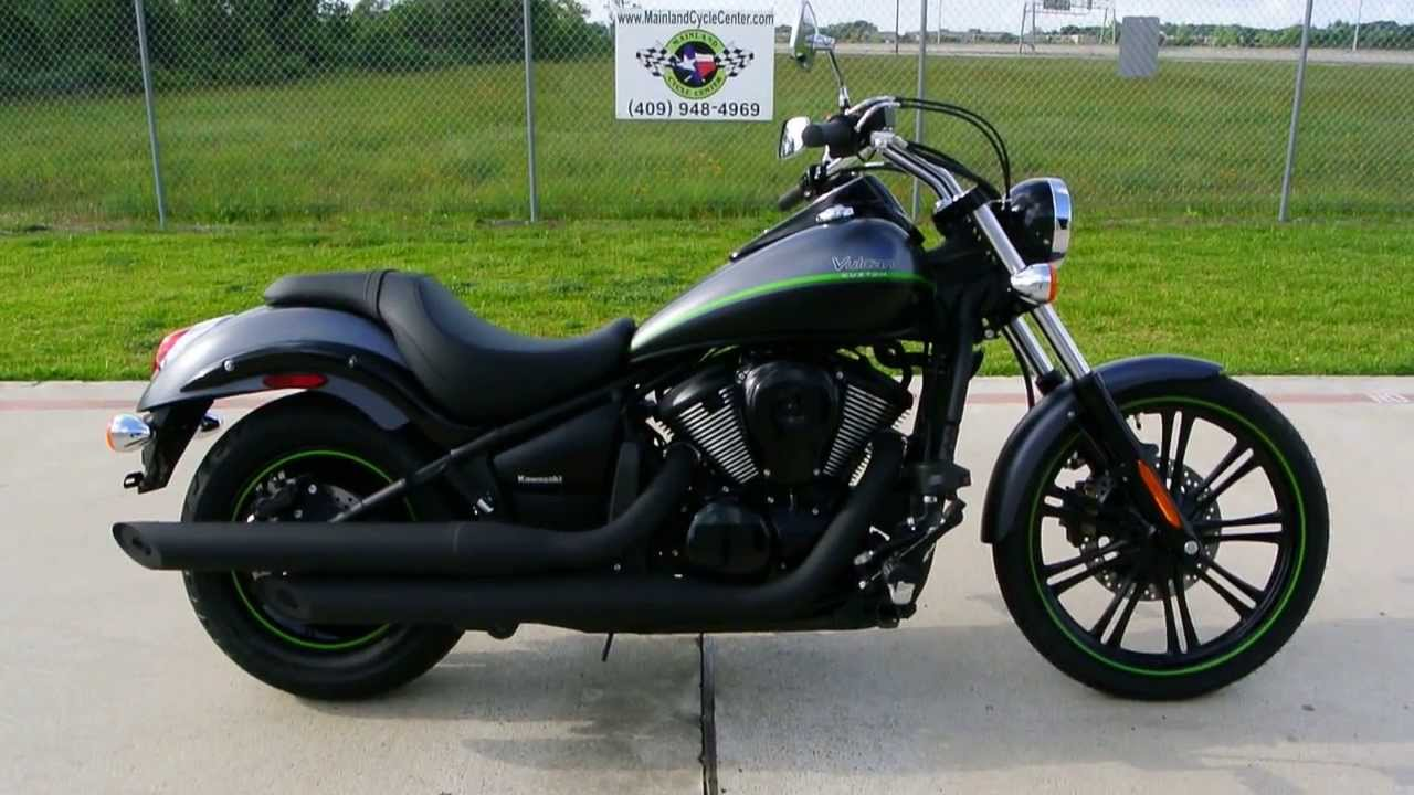 2013 Kawasaki Vulcan 900 Custom in Metallic Flat Platinum Gray ...