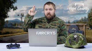 Диалоги о рыбалке или как убивать сектантов / Far Cry 5