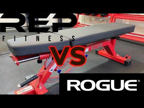 BEST ADJUSTABLE WEIGHT BENCH - Rep Fitness AB5000 Zero Gap / Rogue AB3 Adjustable Weight Bench