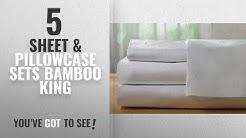 Top 10 Sheet & Pillowcase Sets Bamboo King [2018]: Hotel Sheets Direct Bamboo Bed Sheet Set 100%