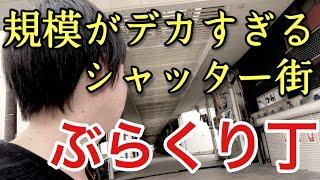 和歌山にある巨大なシャッター街・ぶらくり丁に行ってみたら・・意外な状況でした