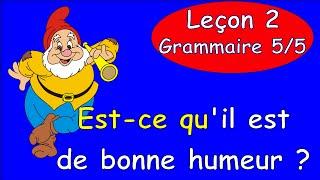 2 Урок французского. Грамматика 5/5. Оборот est-ce que. #французскийязык