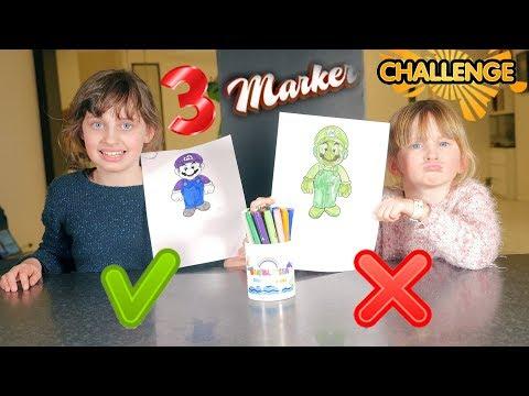 3 MARKER CHALLENGE • C'EST NOUVEAU ET C'ET FUN !! - Studio Bubble Tea