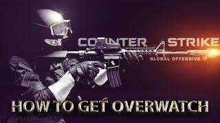 How to get overwatch in cs:go