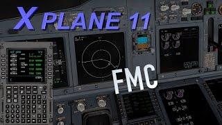 X PLANE 11| Tutorial FMC 737-800 padrão | Ponte Aérea Parte I |