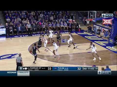 Kansas State vs Tulsa Men's Basketball Highlights