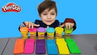Making Play Doh Phone Toy!