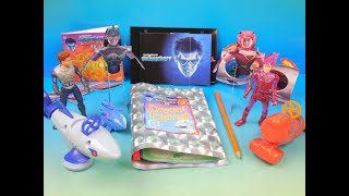 2005 THE ADVENTURES OF SHARKBOY And LAVAGIRL 3-D SET OF 8 McDONALDS HAPPY MEAL TOYS VIDEO REVIEW
