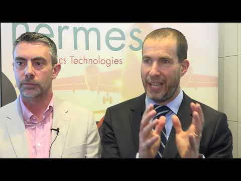 Yuval Baruch, CEO and Alex Labonne, CTO of Hermes Logistics Technologies