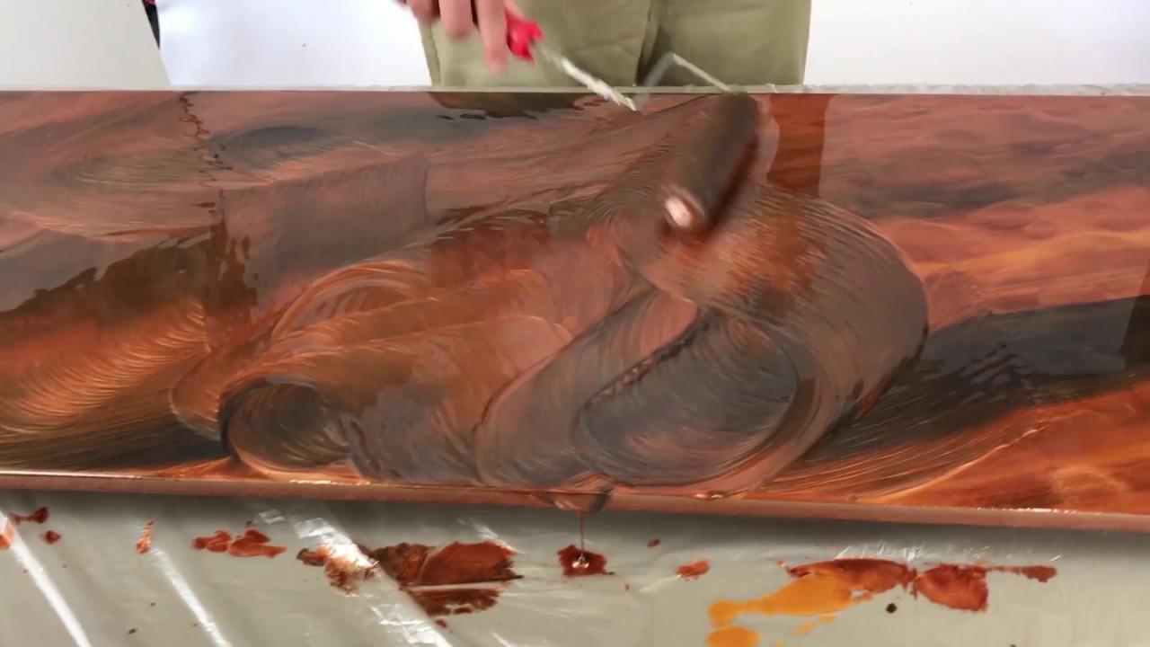 Videos - Material - Epoxidharz - Küchen und Tischplatten beschichten