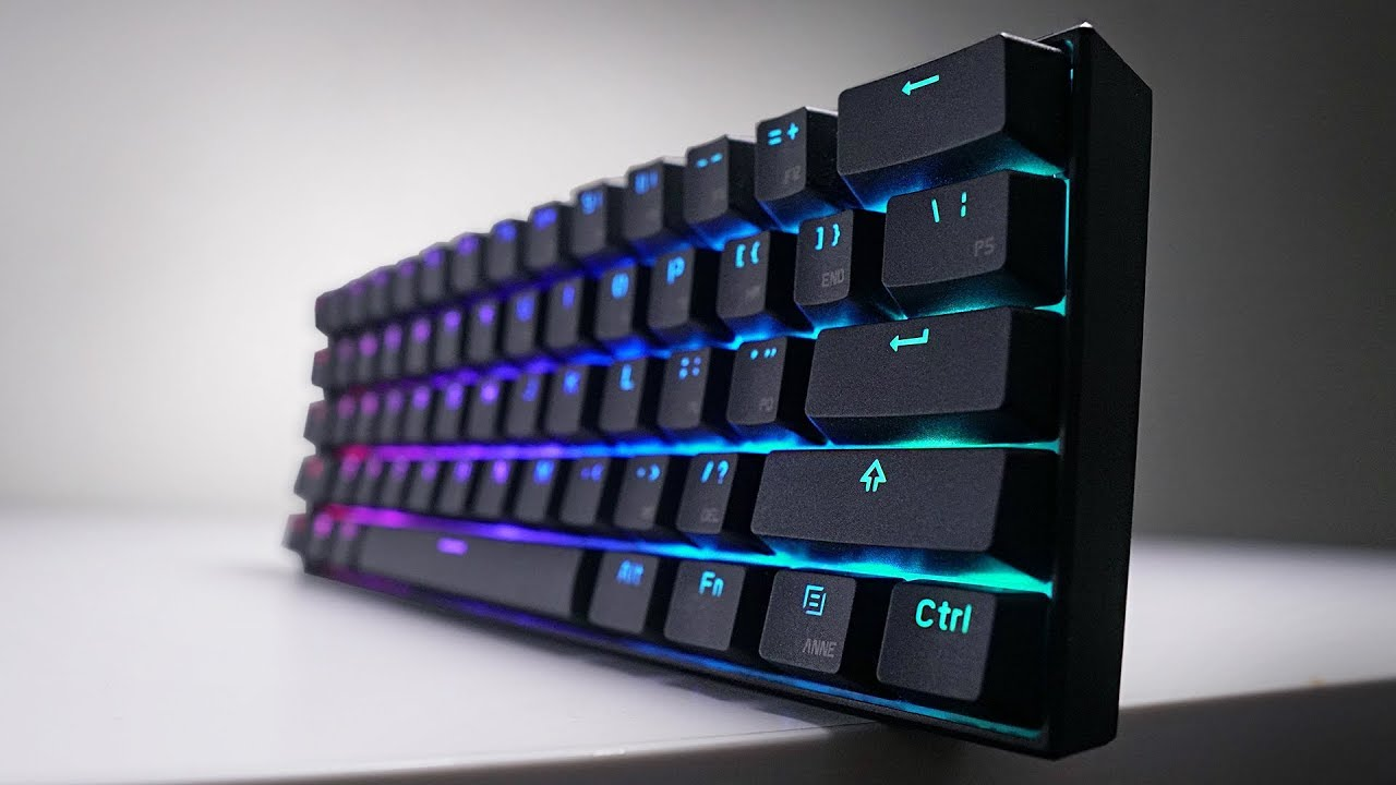 The Perfect 60% Gaming Keyboard? Anne Pro