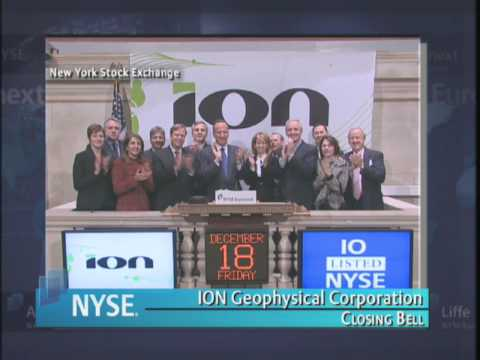 18 December 2009 NYSE Closing Bell ION Geophysical Corporation