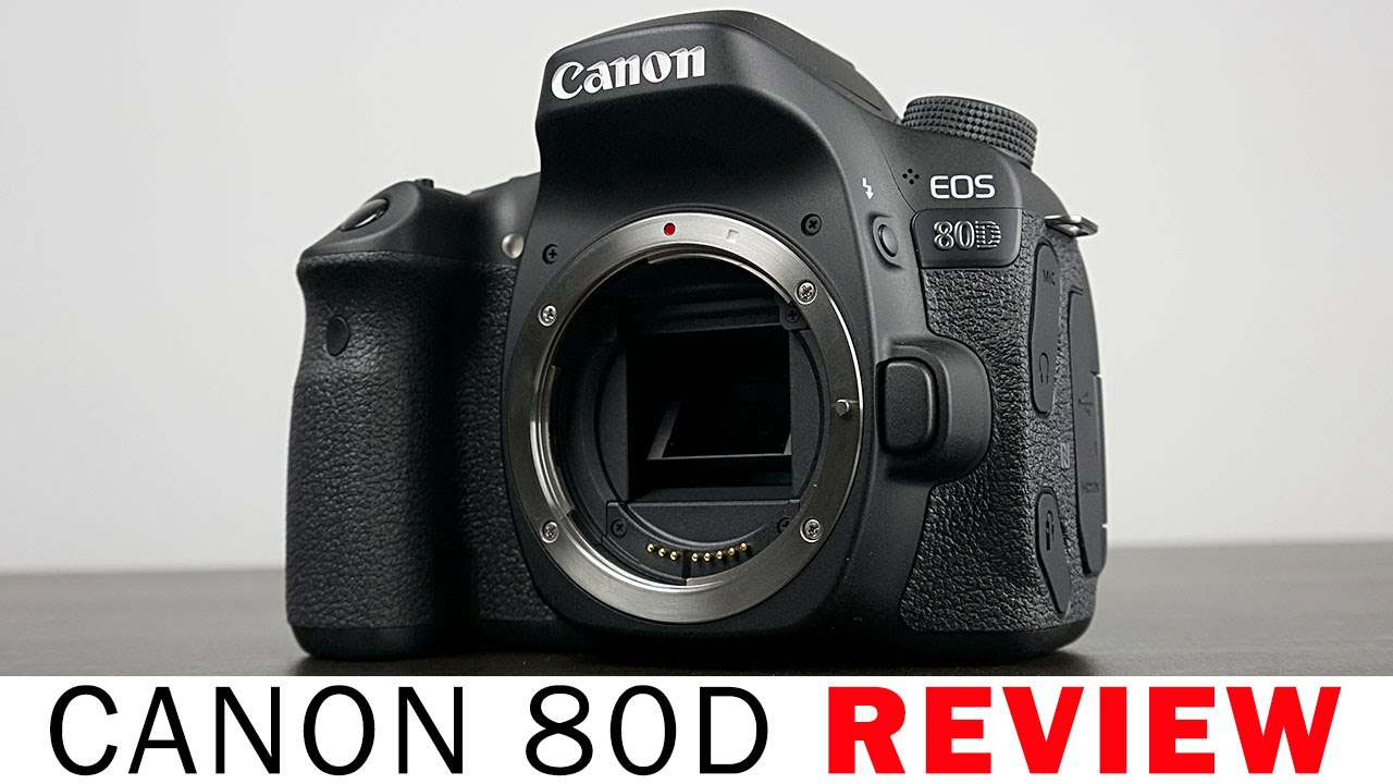 canon eos 80d review youtube. Black Bedroom Furniture Sets. Home Design Ideas